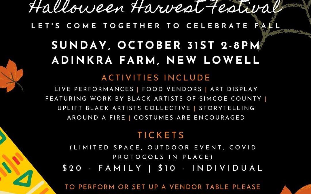 UPlift Black Halloween Harvest Festival
